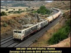 idn5184 (ribot85) Tags: 83630 269309 269265 tren trenes trains train renfe railways railroad cisternas cisterna zarzalejo villafria huelva japonesas 269 2693 2692 caf