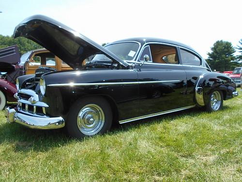 1949 Chevy Fleetline (splattergraphics) Tags: 1949 chevy fleetline customcar carshow libertystreetrods winfieldvolunteerfiredept sykesvillemd