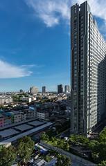 Sunday Late Noon, Bangkok Thailand (Vipu Srinavavong) Tags: sunday bluesky bangkok thailand nikon d750 20mm landscape cityscape afternoon