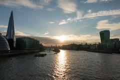 Skyline up the River Thames, London (gbuckingham89) Tags: london londonskyline londonsunset riverthames sunset england unitedkingdom gb