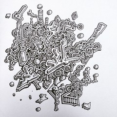 Abstract drawing doodle (nikita_grabovskiy) Tags: art artist drawing paining color pencil tattoo tattoos arts artists draw drawings sketches sketch design pattern patterns abstract paintings painter paint create creative colors artwork artworks cool pen modern contemporary creativity artistic zentangle mandala mandalas zentangles doodle doodles doodling print prints black surrealism surreal collage image images picture pictures zen henna arte artista dibujo pintura tatuaje lápiz artiste tatouage dessin couleur peinture crayon арт художник карандаш рисунки рисунок узор узоры картина искусство татуировка