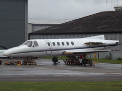 G-ESTA Cessna Citation II Executive Aviation Services Ltd (Aircaft @ Gloucestershire Airport By James) Tags: gloucestershire airport gesta cessna citation ii executive aviation services ltd bizjet egbj james lloyds