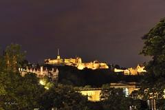 CALTON HILL NIGTH VIEW (rafasalcines) Tags: scotland bagpiper royal mile edinburgh skye castle landscapes calton hill