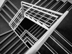 DSC_9208-2 (deborahb0cch1) Tags: pattern abstract texture blackwhite monochrome minimalism architecture lines building outdoor geometric symmetry stairs