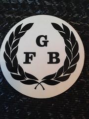 Guernsey Fire Brigade Helmet Transfer (Lesopc) Tags: guernsey gfb fire brigade helmet transfer crest badge sticker logo