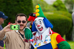 showmens rest. august 2016 (timp37) Tags: clown ghostbuster ghostbusters illinois forest park august 2016 woodlawn cemetary showmens rest