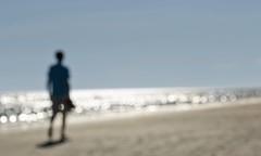 On the beach  Sur la plage (Chizuka2010) Tags: beach plage walking marche marcher promenade sand water ocean mer sable bokeh hbw chizuka2010 lucie gagnon naturephotographer intentionalblurriness blurry fuzzy mirage dream rve souvenirs dt summer memories