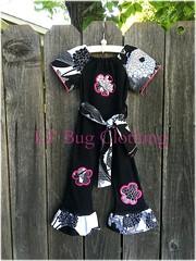 Floral (Lil' Bug Clothing) Tags: peasant romper floral yoko