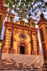 Iglesia de San Caralampio / San Caralampio Church (drlopezfranco) Tags: mxico chiapas comitan sancaralampio church iglesia hdr hrd color colonial arquitectura architecture