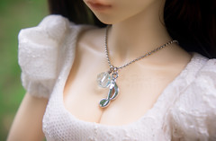 necklace (The Darkest Star ) Tags: bjd fairyland minifee rheia dolljewelry dollnecklace bjdjewelry bjdnecklace