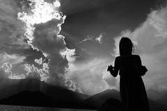 Catch me if you can (stefankamert) Tags: stefankamert landscape shadow sony rx100 rx100m2 blackandwhite blackwhite noiretblanc bw sw clouds monochrome mono sea light beach summer nature people sky
