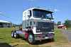 Mack MH613 Tractor (Trucks, Buses, & Trains by granitefan713) Tags: truck classictruck antiquetruck antique truckshow mack macktruck mackmh mackmh613 mh613 coe cabover sleeper sleepertractor
