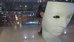 Westminster Plaza Hotel London (Sholing Uteman) Tags: face london seat westminster plaza hotel suzanne bigben clock bridge sculpture art plastic figure view eyes nose doubledeckerbus night