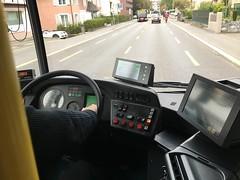VBL Bus #151 in Lucerne, Switzerland - Cockpit (Reto Kurmann) Tags: 151 citaro