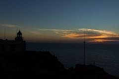 Faro Cabo Prior (Juan Pedro Barbadillo) Tags: sunset atardecer cloudy nublado lighthouse faro sea mar ocanoatlntico atlanticocean contraluz backlighting