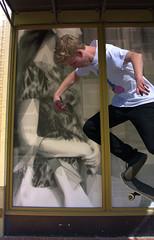 Skateboard Fantasy (swong95765) Tags: skateboard guy kid woman fantasy window