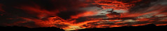 Sunset 10 6 16 #55 Panorama (Az Skies Photography) Tags: october 6 2016 october62016 10616 1062016 sky skyline skyscape rio rico arizona az rioricoaz riorico arizonasky arizonaskyline arizonaskyscape cloud clouds red orange yellow gold golden salmon black canon eos rebel t2i canoneosrebelt2i eosrebelt2i sun set sunset dusk twilight nightfall arizonasunset panorama