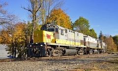 Sailing Down The Hill (DJ Witty) Tags: railroad train locomotive freight alco century mlw montreallocomotiveworks c420 m636 c636