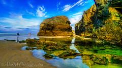 As Catedrais (The Happy Traveller) Tags: beautifulbeach beach ribadeo galicia scenery spain