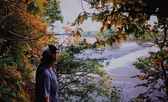 (Meg4nnn) Tags: scenery scenic branch colors sun daylight roadtrip road vsco dam environment adventure explore leaf tree water hiking park outside outdoors nature fall