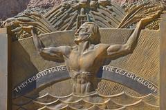 Hoover Dam Memorial (dr_marvel) Tags: hoover hooverdam dam memorial relief sculpture nevada arizona