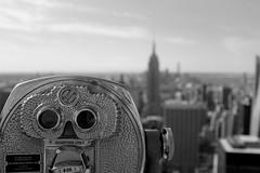 Quarter View (andyfpp) Tags: fuji fujifilm x100t newyork newyorkcity totr topoftherock rockefeller 2016 blackandwhite bw blackwhite bwred mono monochrome monotone dof depthoffield focus manhattan