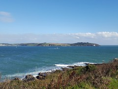Carrick Roads, Black Rock & St. Antony Head (Helen Orozco) Tags: carrickroads harbour falmouth cornwall blackrock stantonyhead fragglerock