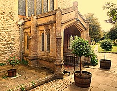 Everyone Welcome! (springblossom3) Tags: church st mary magdalene religion worship history architecture cotswolds woodstock oxfordshire