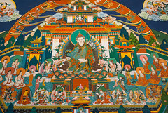 Inside Trongsa Dzong (whitworth images) Tags: stone administration building buddhist large himalaya himalayas intricate bhutan enormous culture buddhism interior travel decorated colourful store detail ancient color historic inside dzong karma symbol monastery colour asia government fortress teaching symbolic wheeloflife religious huge religion paintings architecture trongsa old trongsadzong colorful traditional