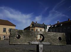 Stocks (Pivi ) Tags: gapestokk stocks fredrikstad norway town old king