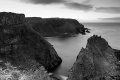 Portmoon Bothy. County Antrim, Northern Ireland (jtat_88) Tags: autum bw blackandwhite bluehour causewaycoast cliffpath cliffs coast cokin cokinp120 countyantrim countyantrimcliffpath discover dunseverick fall filter fullframe grass holiday ilce7 ireland le landscape longexposure mirrorlesscamera moon nd ndfilter ndgrad ndgradfilter nature neturaldensity noir northcoast northernireland p120 portmoon reflection rocks rugged sea seascape seaside shoreline sky smooth sony sonyfe2870mmf3556oss sonya7 vacation water wild