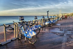 Nice (denismartin) Tags: denismartin hdr france frenchriviera nice menton capdail monaco promenadesdesanglais baiedesanges bicycle alpesmaritimes cotedazur mediterraneansea mediterrane yachts