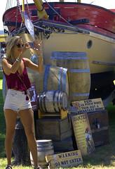 Pirate Place (swong95765) Tags: ship rum pirate fair woman blonde female lady camera pretty