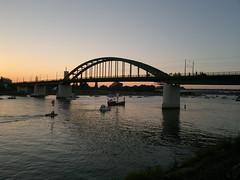 20160827_191127 (vale 83) Tags: old sava bridge belgrade serbia sunset nokia n8 friends lunaphoto weatherphotography bridgeaward