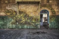 ...Lizzard... (Hitman.47 (BuriedDreams.nl)) Tags: decay abandoned derelict forgotten old artwork forbidden urbanexploring canon sale selling burieddreamsnl beautiful light dark explore exploring