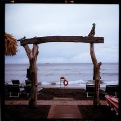 La Torba - Capalbio (Paolo Fugazzi) Tags: ikon nettar portra film toscana tuscany capalbio frigidaire mare sea cloudy holiday vacanze nuvole pellicola torba iso