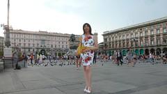 Milan - Piazza Duomo (Alessia Cross) Tags: crossdresser tgirl transgender transvestite travestito