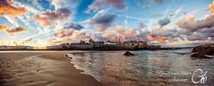 Saint-Malo (guillaume_roger_aussant) Tags: saintmalo bretagne bzh breizh france ileetvilaine guillaumerogeraussant nuages clouds reflets reflects shadow ombre oiseaux birds chateau castle sunrise sunset aurore aube rayon lumire