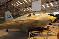 IMG_3660  Messerschmitt ME 163 B - World War 2 Rocket Powered Interceptor (SomeBlokeTakingPhotos) Tags: aircraft aviation touristattraction warbird raf cosford militaryaircraft aircraftmuseum royalairforce