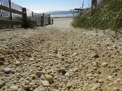 Atlantic City, NJ (lotos_leo) Tags: ocean autumn beach stone newjersey path walk down zen atlanticcity terra