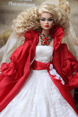 Christmas Poppy!!! (Isabelle from Paris) Tags: blue angel convention poppy gloss parker isabelleparisjewels