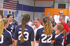 IMG_6944 (SJH Foto) Tags: school girls club out liberty high team time teen teenager belle volleyball tween timeout huddle
