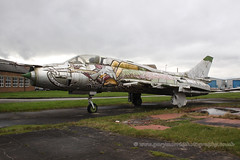 35Red Sukhoi Su-17M3 (Gary J Morris) Tags: airport chester sukhoi hawarden su17 35red egnr aviationparkgroup