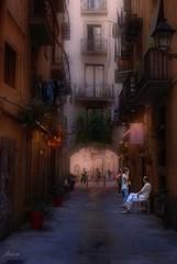 ... callejeando ... (Barcelona) (franma65) Tags: barcelona street born barrio calles robado callejuela antigüo atrcos