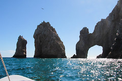 El Arco (Doug Hof) Tags: sea vacation sun beach mexico boat cabo arch tourist resort iguana cabosanlucas riusantafe oceanbajapeninsula