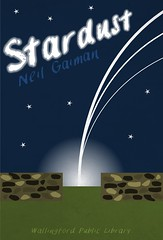 Stardust (Wallingford Public Library) Tags: art poster book graphic library libraries neil books read cover minimalist stardust gaiman everthing