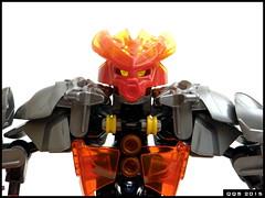 Hero of Fire (Kukus_) Tags: fire technic bionicle toa 2015 herofactory