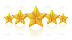 Golden Five Stars (Clipping Path!)isolated on white background - Stock Image (imagesstock) Tags: christmas reflection yellow metal photography gold star hotel shiny bright symbol metallic istockphoto decoration award honor content nopeople celebration whitebackground blank simplicity service christmasdecoration christmasornament copyspace satisfaction istock rank success luxury firstclass isolated perfection sparse winning textured highsociety elegance aspirations inarow maximum vibrantcolor qualitycontrol clippingpath number5 designelement upperclass starshape fivestars threedimensionalshape ontopof isolatedonwhite fiveobjects highrank