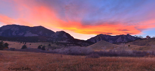 Photo - Logan Garby - Sunset Over the Flatirons - Runner Up - Youth