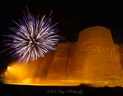 Fireworks @ Derawar Fort (Muhammad Fahad Raza) Tags: pakistan classic desert jeep fort south rally 5d punjab fahad raza 2015 cholistan bahawalpur derawarfort derawar pakistaniculture nawabsofbahawalpur 5dclassic fahadraza cholistanjeeprally2015 cholistandesertrally2015 fireworksardrawerfort nawabsadiqmuhammadkhan